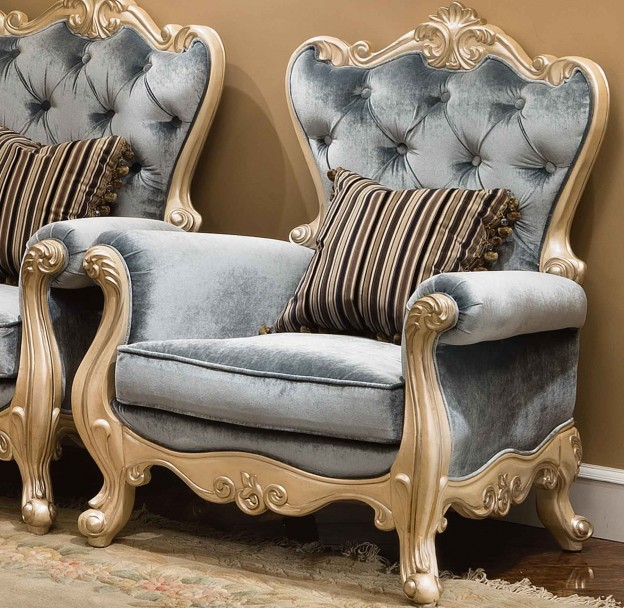 St. Ives Accent Chair shown in Egyptian Pearl finish