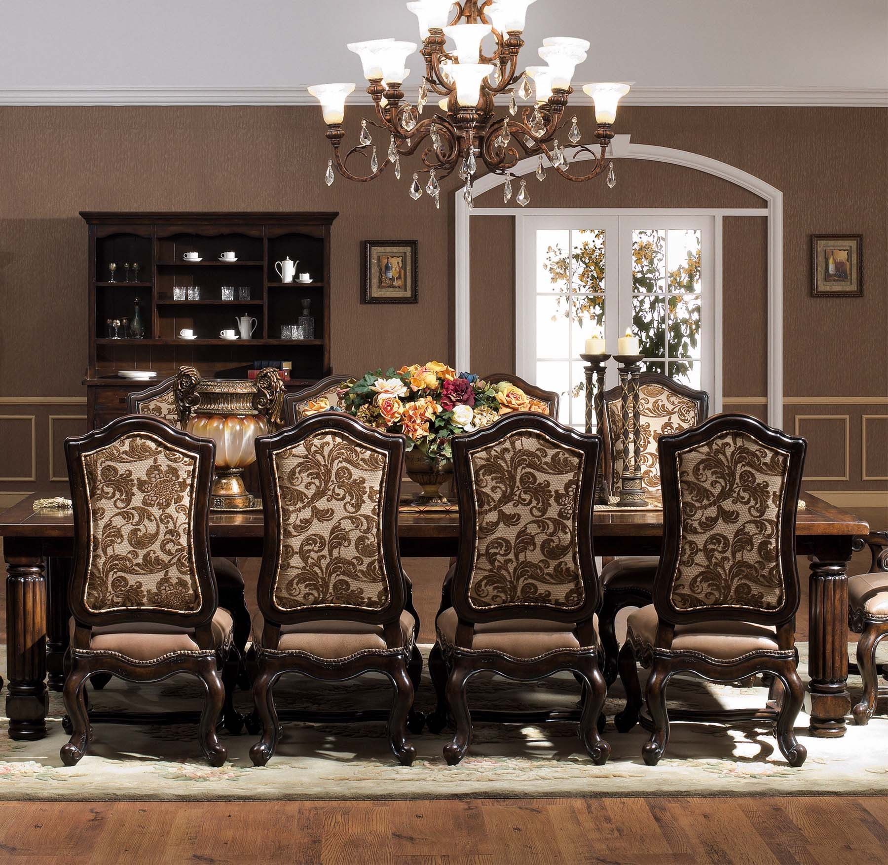 Hartford 7 pc dining set for Farnichar dining table