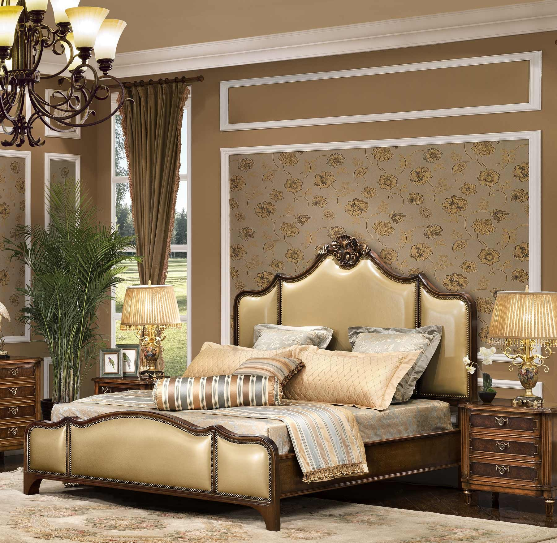 Dorchester Bed shown in Vintage Cohiba finish