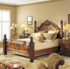 Greenwich Bed shown in Mahogany finish