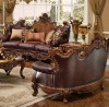 Knightsbridge Loveseat / Sofa shown in Antique Cherry finish