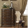 Oxford Six Drawer Chest w/ Granite Top shown in Parisian Bronze finish