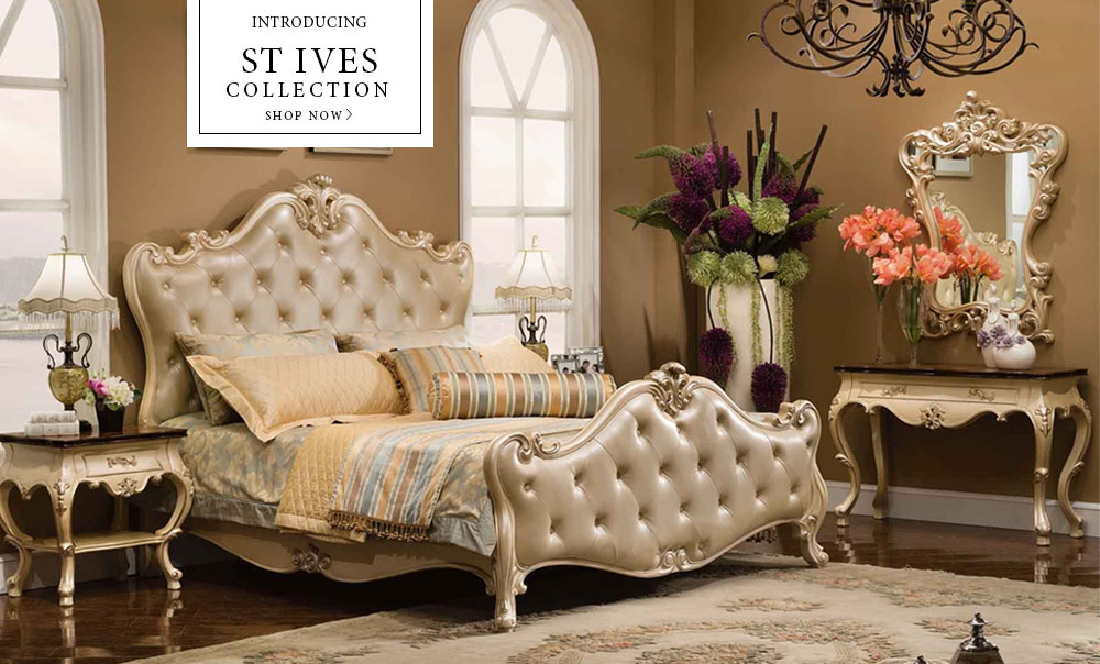 Savannah Collections, Fine Luxury Furniture: Bedroom